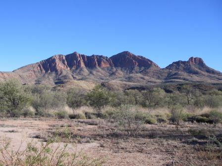 Larapinta Trail, West MacDonnell Ranges, outback Australia