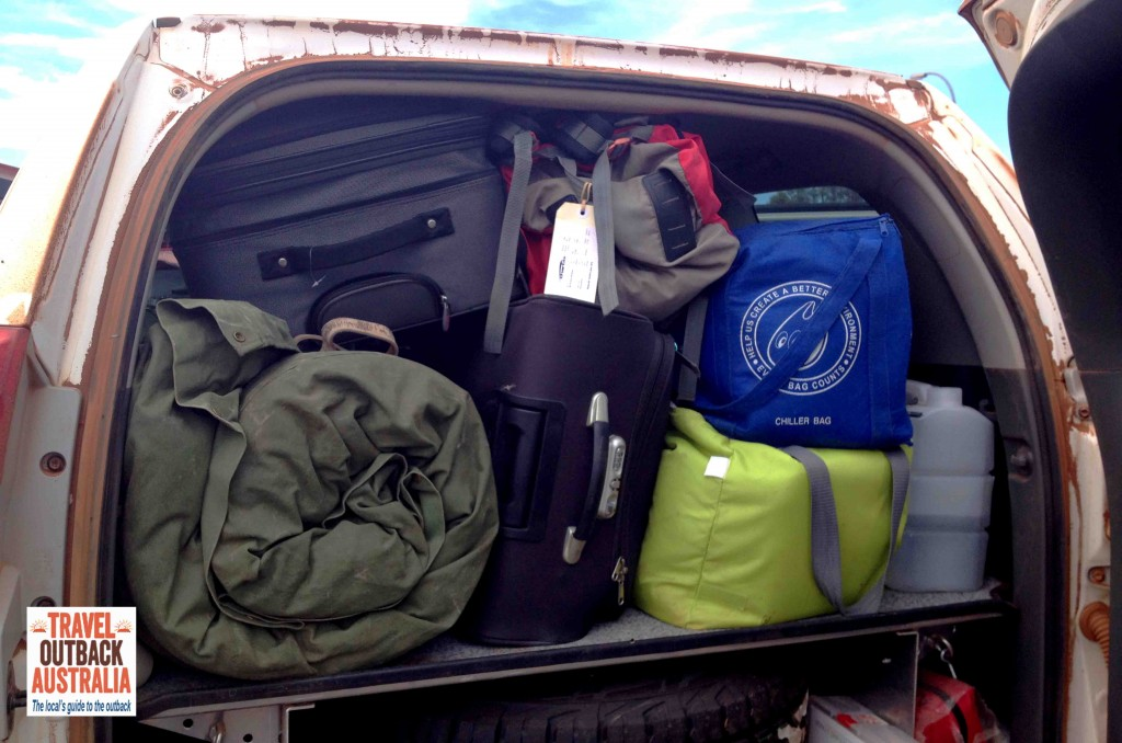 packing your 4WD, outback travel