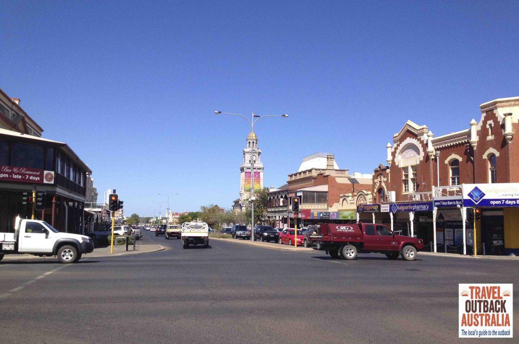 Hannan Street Kalgoorlie, Western Australia, AustraliasGoldenOutback