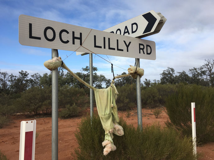 Loch Lilly Station, outback Australia, Morgan Mail Road