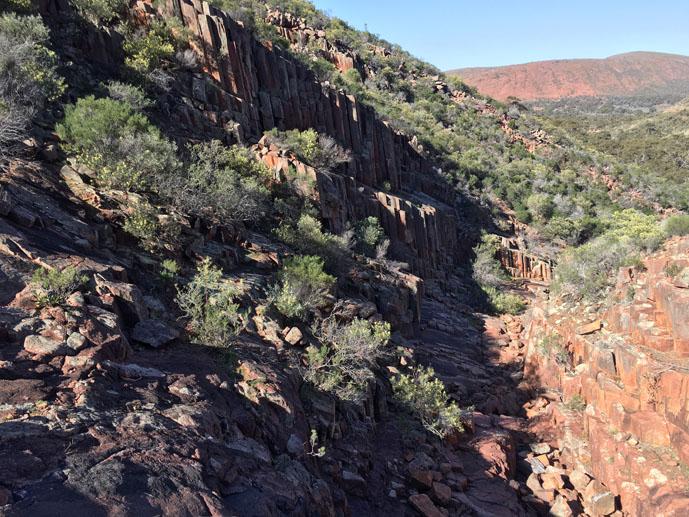 Organ Pipes, Gawler Ranges, South Australia
