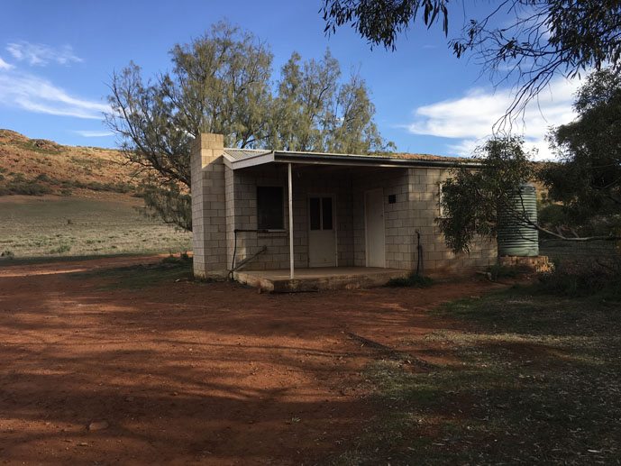 Kolay Hut, South Australia, Gawler Ranges