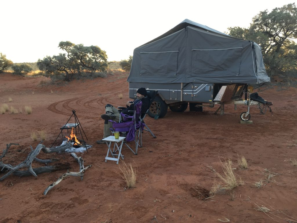 Gidgee Camp, Hay River Track